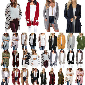 Winter-Women-Long-Sleeve-Knit-Cardigan-Sweater-Outwear-Jumper-Jacket-Coat-Tops