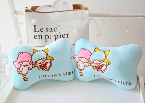 2pcs  Little Twin Stars plush bone pillow cute fashion neck pillows pillows new