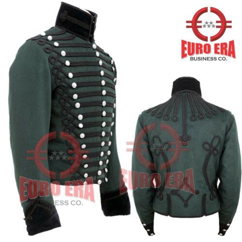 Napoleonic Regency 95th Rifles Officer tunic Jacket Steampunk Military Jacket