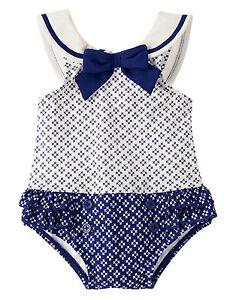 Size 3-6 months Swimsuit Gymboree Coastal Breeze,one piece suit,NWT,LAST SIZE