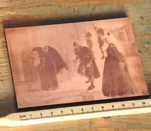 Galvano-Druckstock-Kupferklischee-Druckplatte-Drucker-imprimerie-letterpress