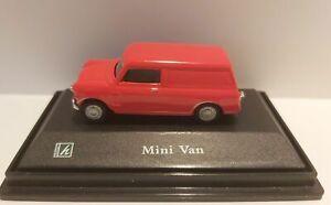 Mini-Van-Red-Diecast-Car-Scale-1-72-Cararama-Oxford-NEW