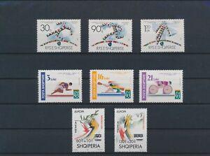 LO08748 Albania Europa Cept athletics sports fine lot MNH