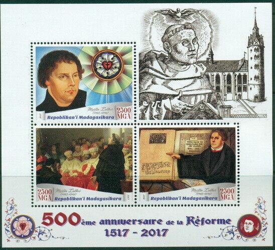 2017 500th Anniversaire Reformation Religion Martin Luther églises Bon Pour L'éNergie Et La Rate
