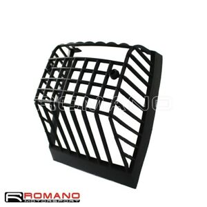 Scooter-Motorcycle-Rear-Taillight-Grille-Cover-Black-For-Vespa-PX-ELF-1984-Up