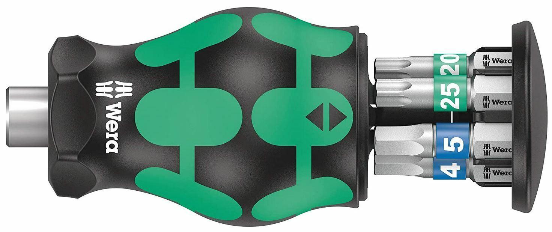 Wera 05008875001 fuerza forma compacta Stubby revista 3 pzas