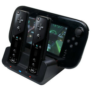 how to know if wii u gamepad is charging