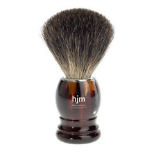 Muhle HJM Pure Badger Hair Shaving Brush with Faux Tortoiseshell Handle