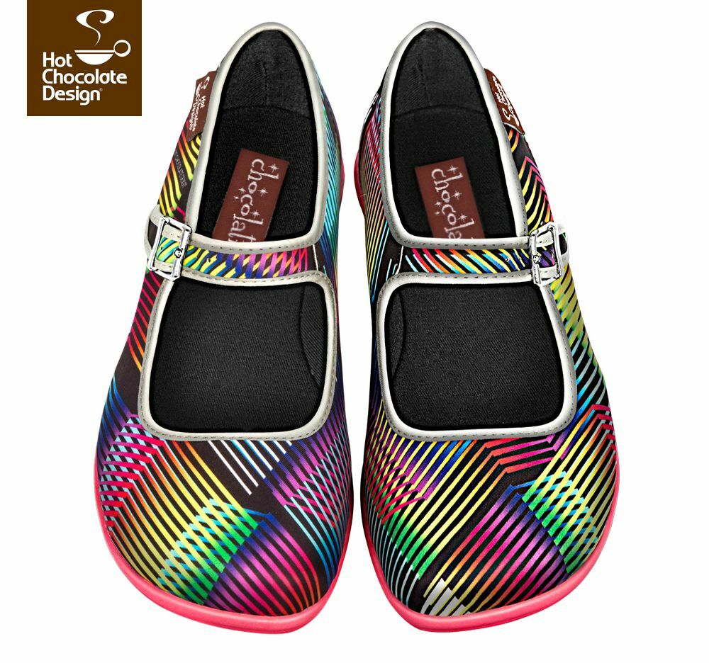 Hot Chocolate Design. Chocolaticas Cinetic. US 8. femmes chaussures. Mary Janes
