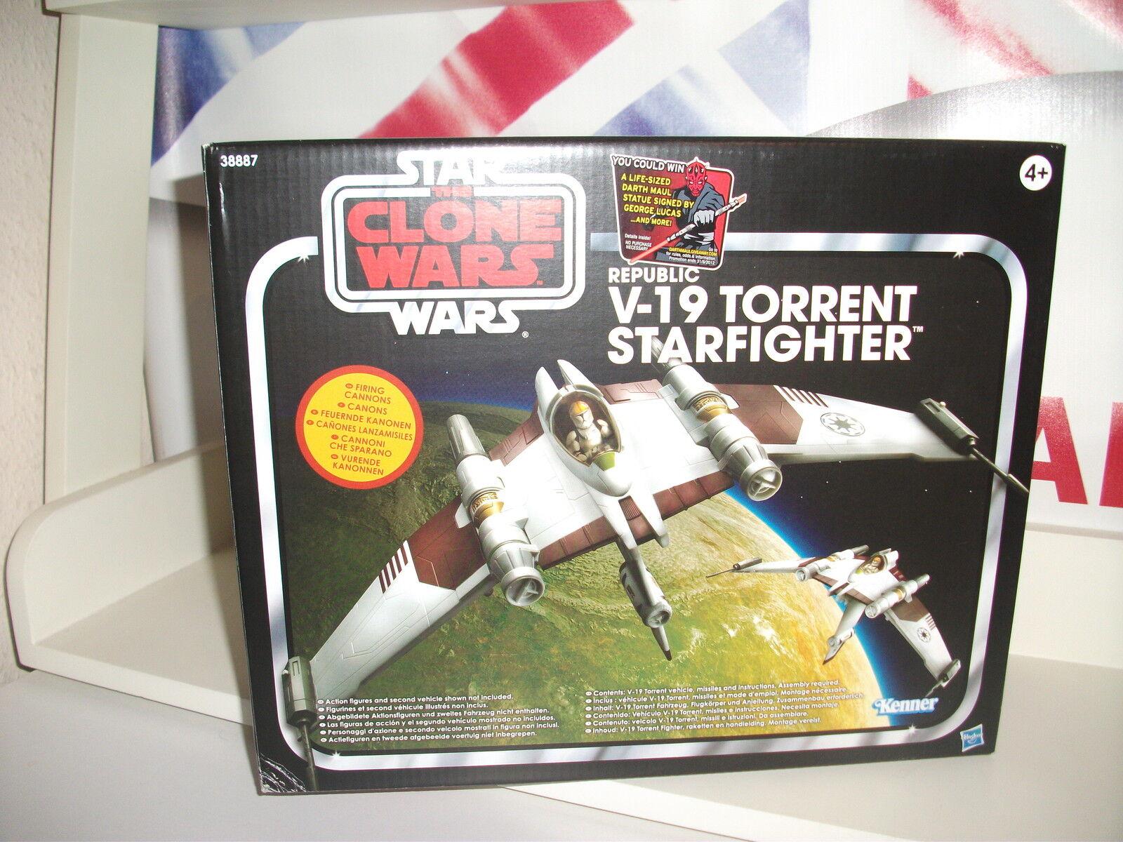 Star - wars - vintage - kollektion v-19 torrent - neue beschädigte box