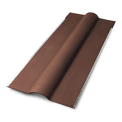 Fürs Dach Firsthauben Für Bitumenwellplatten Braun Geschickte Herstellung Heimwerker