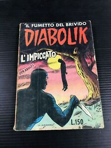 DIABOLIK-originale-Ingoglia-n-10-del-1963-L-039-IMPICCATO-2