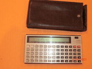 VINTAGE Casio FX-702P Programmable BASIC Pocket Computer & Pouch