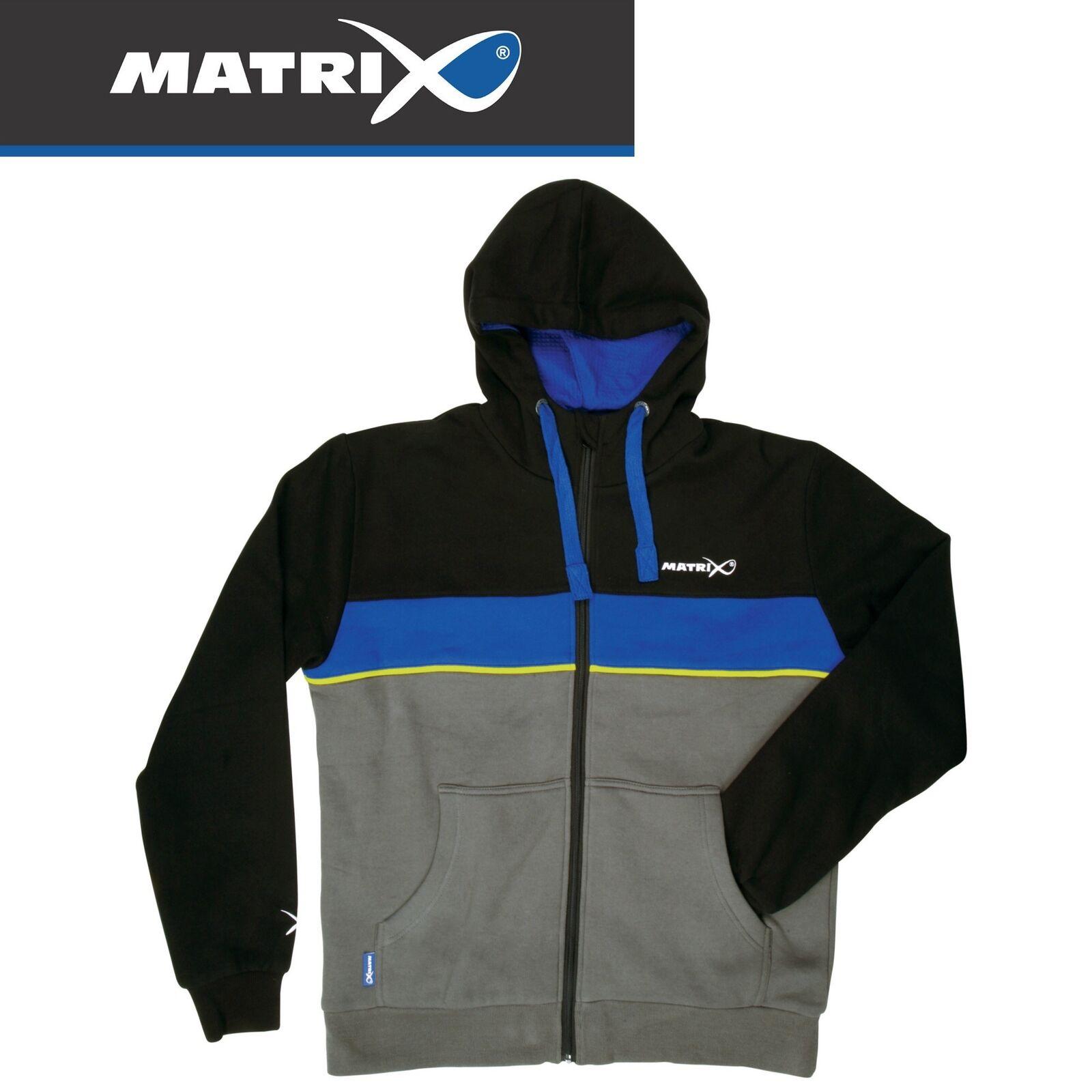 Fox Matrix Fleece Lined Hoody - Angelpullover Angelbekleidung für kalte Tage