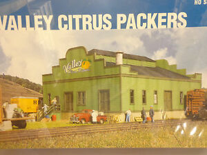 Walthers-Cornerstone-HO-2926-Citrus-Packing-House-Kit-Form-Plastic