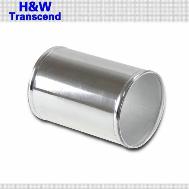 "ALUMINUM COUPLER PIPE JOINER HOSE CONNECTOR POLISHED 51mm 2"" inch PIPE"