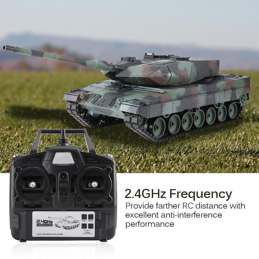 Heng lungo  3889-1 1 16 2.4GHz RC Tank Remote Control suono Simulation modello b  miglior servizio