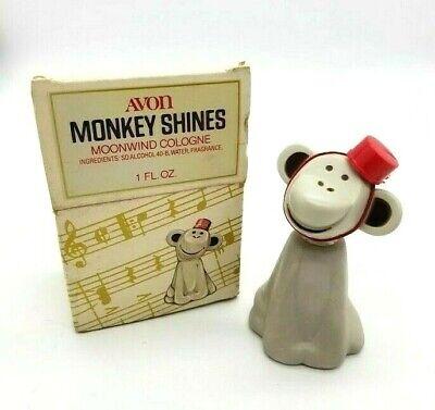 Avon Vintage Monkey Shines Moonwind Cologne