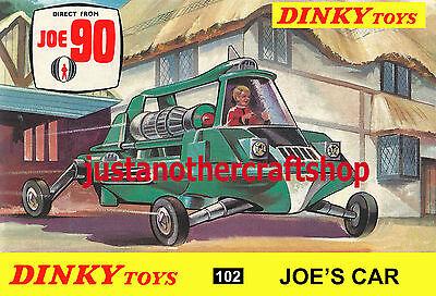 Corgi Toys 267 Batman Batmobile 1966 Large Size A3 Poster Advert Leaflet Sign