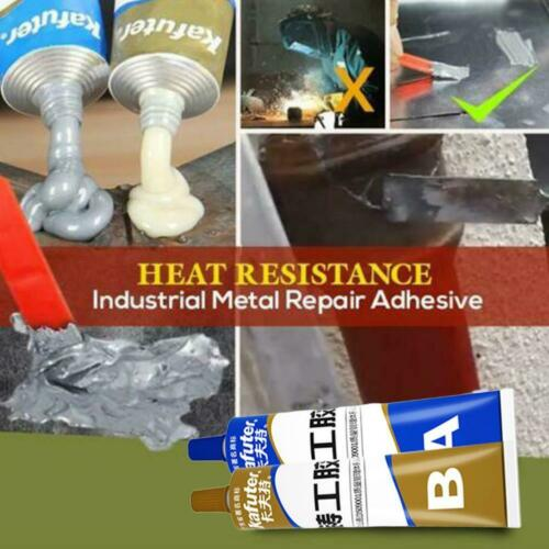 Industrial Heat Resistance Cold Weld Metal Repair Paste 65g//100g