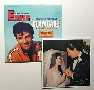 ELVIS-PRESLEY-CLAMBAKE-WEDDING-FULL-COLOR-PHOTO-amp-BONUS-remastered-CD
