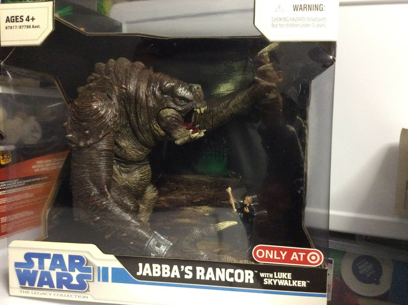 Star Wars Jabba's Rancor with Jedi Luke Skywalker Figure - Target Exclusive