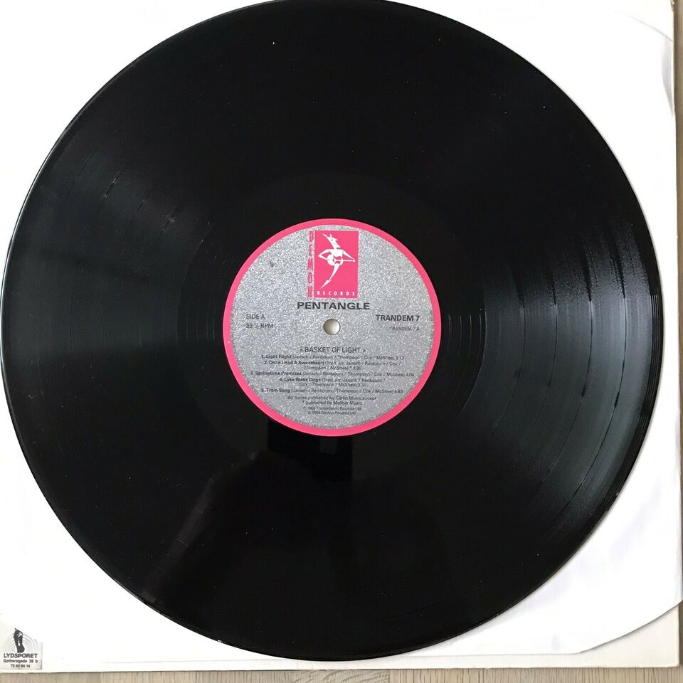 LP, The Pentangle, Basket Of Light