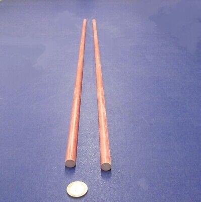 Fiberglass GPO3 Red Round Rods .750 Inch Diameter x 36 Inch Length