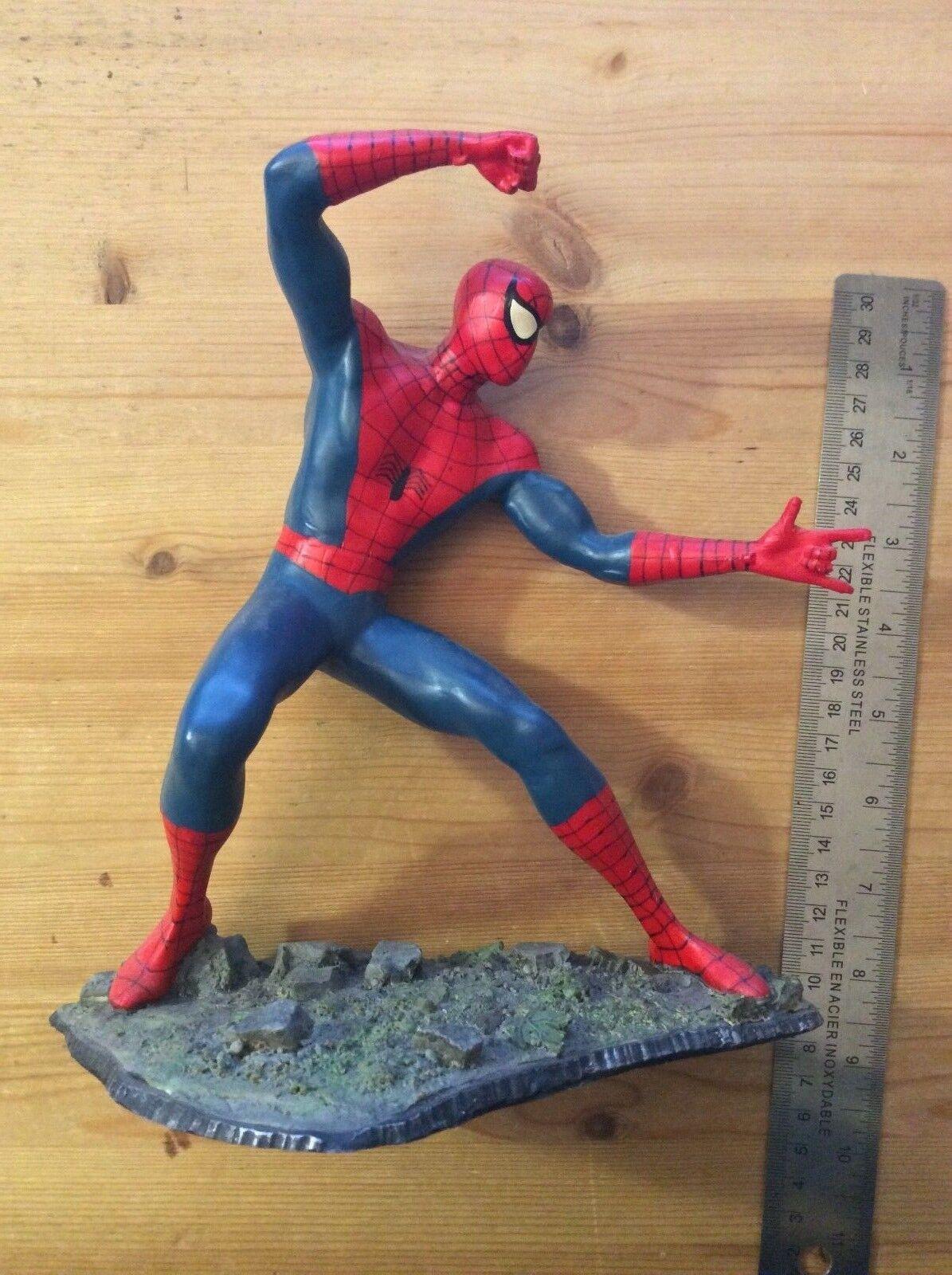 Vintage - klassiker  spider - man  - actionfigur statue )