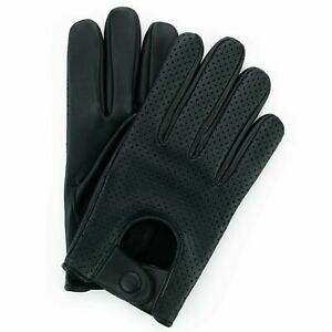 MENS-CLASSIC-VINTAGE-DRIVING-GLOVES-SOFT-GENUINE-REAL-LAMBSKIN-LEATHER-MESH