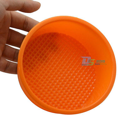 5'' Egg Tart Silicone Cupcake Cake Cookie Mold Pudding Tin Baking Mould Homeware