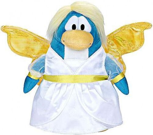 Holiday Club Penguin Snow Fairy 6.5-Inch Plush Figure