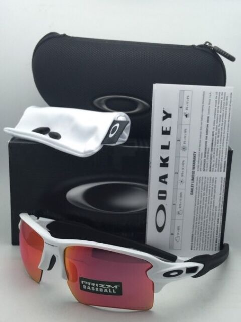 1f89799e04303 New OAKLEY Sunglasses FLAK 2.0 XL OO9188-03 White Frame w  Prizm Baseball  Lenses