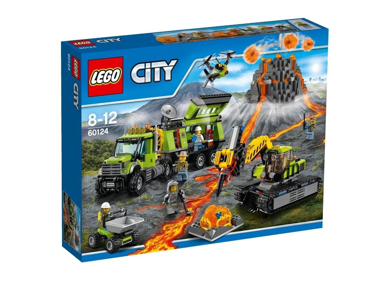 LEGO 60124 City Base Delle Esplorazioni Vulcanica