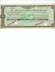 GREAT-BRITAIN-SPECIMEN-TRAVELERS-CHECK-BRITISH-OVERSEAS-BANK-10-POUNDS-EF