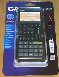 Casio-Graphing-Calculator-TI-84-Powered-by-Python-fx-9750GIII-Brand-New