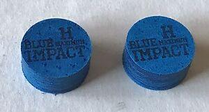 FREE Shipping Hard 2 Tips 5th Avenue Pool Cue Tip 13.5mm Medium