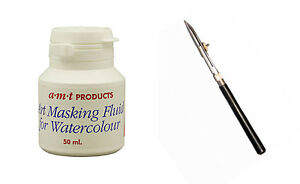 Artists-Masking-Fluid-and-Ruling-Pen-for-Watercolour