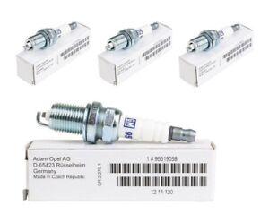 4x-ORIGINAL-GM-OPEL-Zuendkerze-Astra-Corsa-Insignia-Signum-Vectra-Zafira-95519058