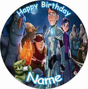 Image Is Loading TROLL HUNTERS 8 034 BIRTHDAY ICING CAKE TOPPER