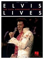 Elvis Lives The 25th Anniversary Concert Sheet Music Piano Vocal 000306989