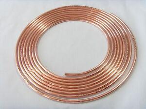 Bremsleitung Bremsrohr 4,75 mm Kupfer TOP PREIS 10m