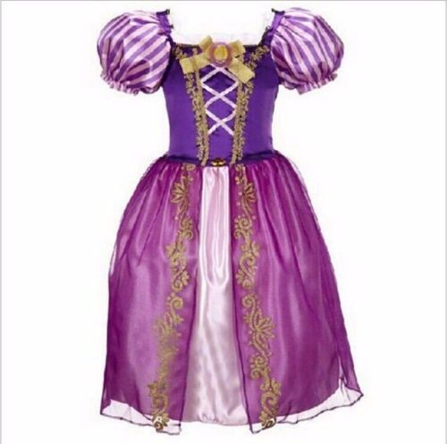 +Girl/'s Kids Snow White Rapunzel Cinderella Fancy Dress Up for Costume Outfit+