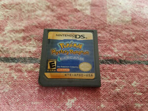 Pokemon Mystery Dungeon: Blue Rescue Team (Nintendo DS, 2006) Authentic - Saves!