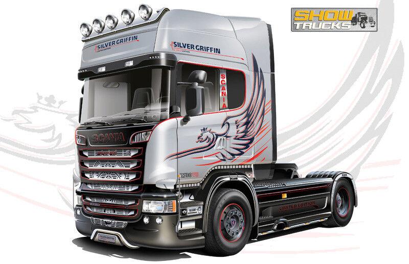 Italeri 3906 - Scania R730 V8 Forme Profilée 1 24 Miniature en PLASTIQUE