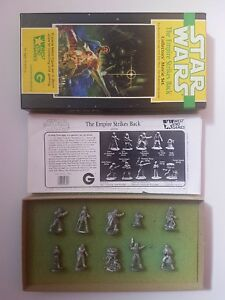 Star Wars 40305 - 25mm West End Game The empire strikes back complete set
