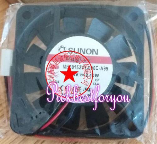 SUNON MF60151V3-1000U-A99 12VDC 60*60*15mm 2 axial flow fan #MT47 QL