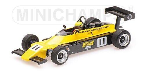Van DieHommes Rf82 Ayrton Senna Ff2000 1982 1  43 Model MINICHAMPS  40% de réduction