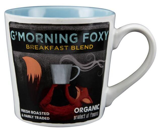 10226 Good Morning Foxy Coffee Mug Cup 18 Oz Hunting Fishing Camping