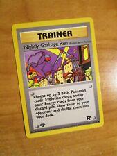 Nightly Garbage Run Englisch Pokemon Team Rocket First Edition //82